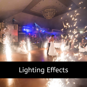 lighting effects for your party entertainment