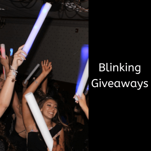 Blinking Giveaways