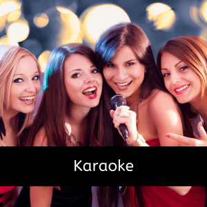 Karaoke – Live singing in front of a large screen TV for all to see, as the words come up. $200.00