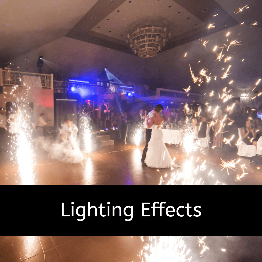 lighting effects for your party and guests