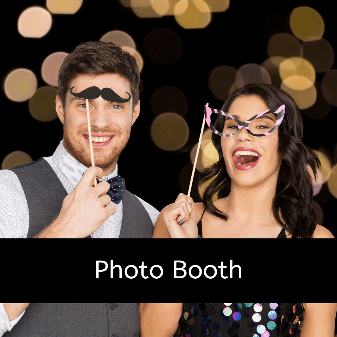 Photo booth extras for your party entertainment