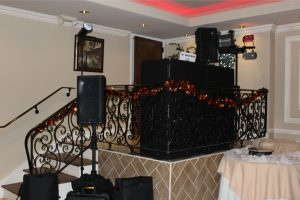 DJ comes ready to entertain the guests at any party