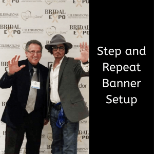 Step and Repeat Banner Setup
